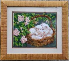 Котята бисером от АбрисАрт