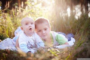 обожаю братика