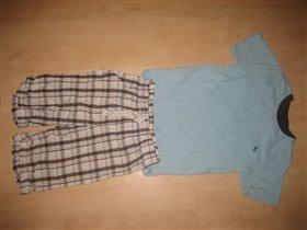 H&M пижама 122-128