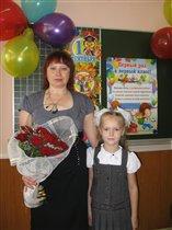 моя первая учительница