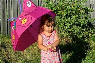 Зонт-бабочка.