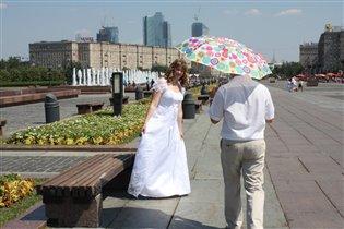 Зонт-спасение и в дождь, и в солнце!