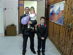Наш папа с дочкой  ЖАнночкой!