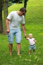 Как я папу обожаю)))