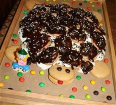 Торт 'Черепаха'.