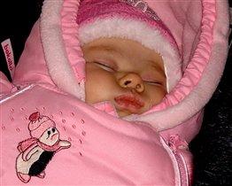 Спящий ангелочек.