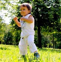 немного бокса малышу не помешает-)))))