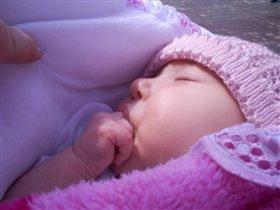 Виталинка спит как витаминка!