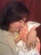 Бабушка с Лилианочкой.