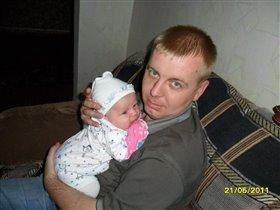 Дашенька и папа