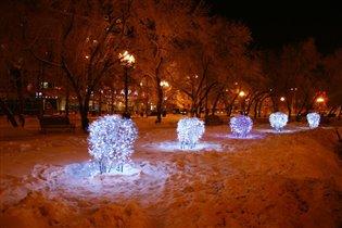 Сибирские морозы.