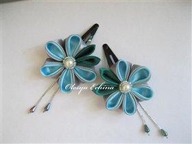 Серо-голубой цветок