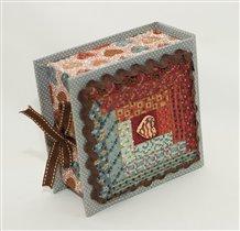 коробочка с дизайном от Mill Hill