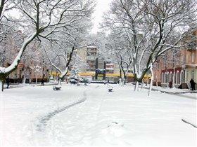 Наш зимний город.