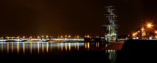 апрельская ночь в Питере
