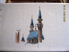 Мечеть 1 неделя работы