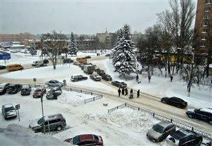 Зима в Жуковском