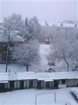 Зима в Ишиме