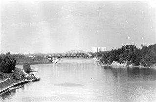 Химки. Мост через канал.