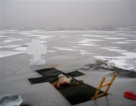 Зима, Крещение 19 января