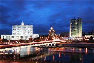 Вечерняя прогулка по Москва реке.