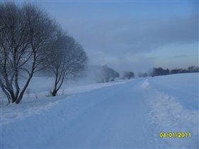 Прошлогодняя красота зимнего дня!