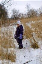 Зимнее поле.