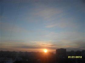 Зимнее утро....
