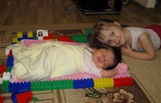 С моей оградкой сестренка спит сладко!!!
