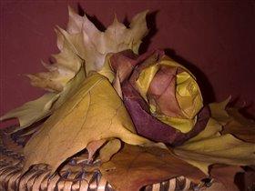 Осень в кленовом оригами