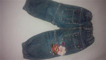 джинсы 86 размер