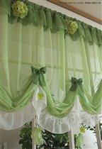 Красивые шторы для кухни