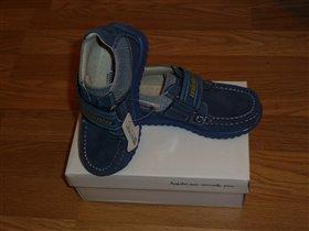 ботинки-мокасины Минимен 27 размер по стельке 18см