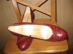 Модельные туфли новые Peter Kaiser Германия 37 р.