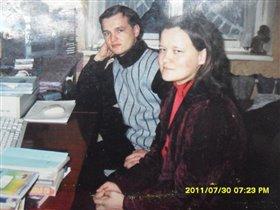 я с родным младшим братишкой Серёжей