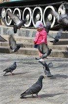 Василиса и голуби
