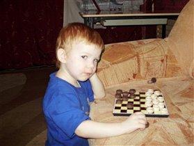 Люблю я в шашки поиграть