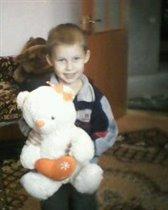 Я и мой любимый мишка Оля)))