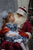 Дед Мороз, стишок послушай.
