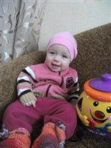 Полине 6 месяцев