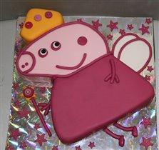 Торт свинка Пеппи