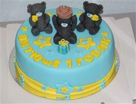 Торт с мишками Me ty you