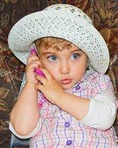 Маленькая леди)))))