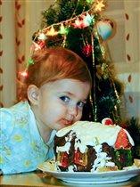 Рождественский торт- ну очень вкусный!!!