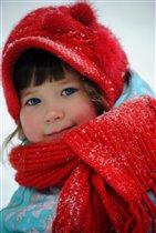 На зимней прогулке.