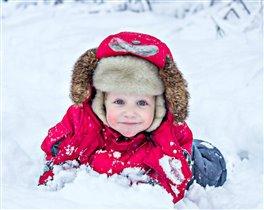 Зимняя весёлая прогулка!