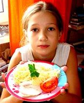 Курочка с макарошками а-ля Николя!