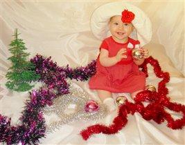 Мой луший подарочек - это моя дочка Маринка!