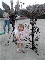 птички из металла