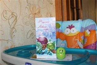 Новогодняя открыточка от Татьяны(Брянский лес)!